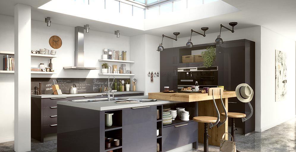 cuisines ixina cuisine quip e cuisine sur mesure lectrom nager accessoires de cuisine. Black Bedroom Furniture Sets. Home Design Ideas