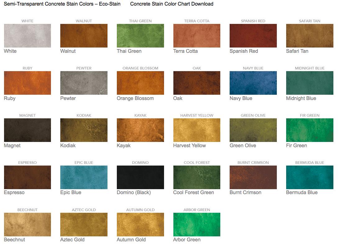 Sherwin Williams Concrete Stain Colors   Home Decor Ideas