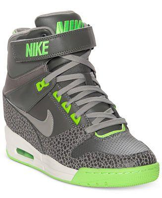 Nike Womens Shoes Air Revolution Sky Hi Casual Wedge Sneakers