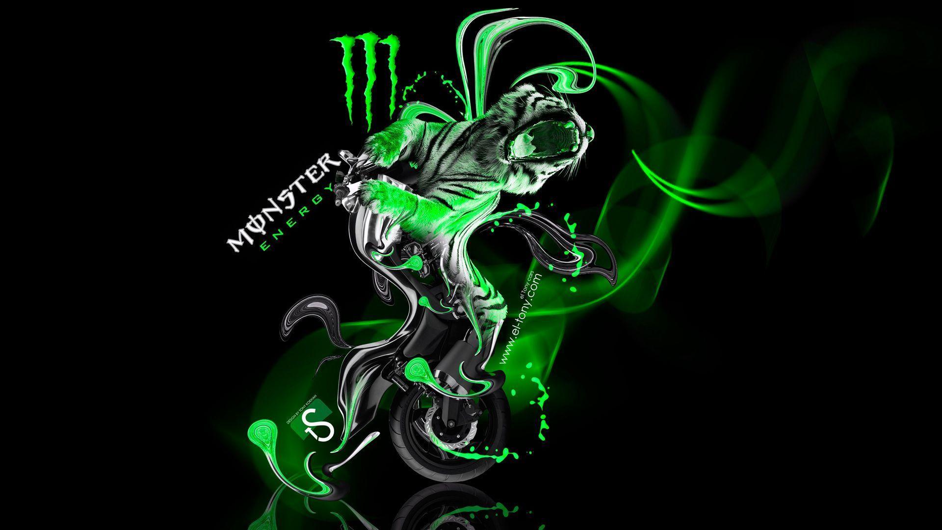 Monster Wallpaper Mobile Monster Energy Green Monsters Monster