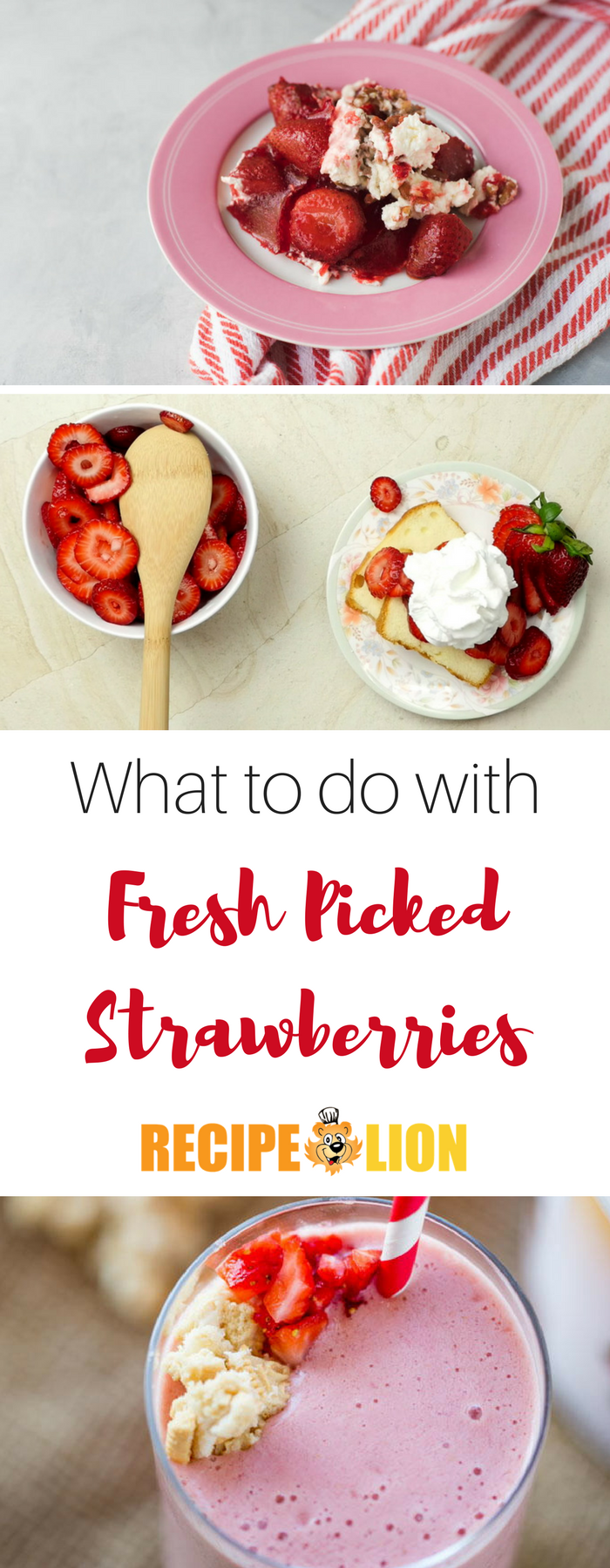 what to do with fresh picked strawberries