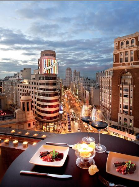 Las Mejores Vistas De Madrid Varios Sitios Y Terrazas De La