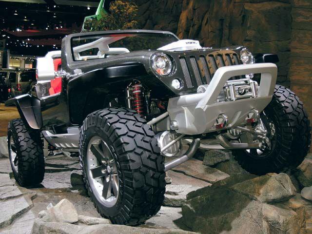 Jeep Hurricane Concept Front View Jeep Jeep Concept City Car