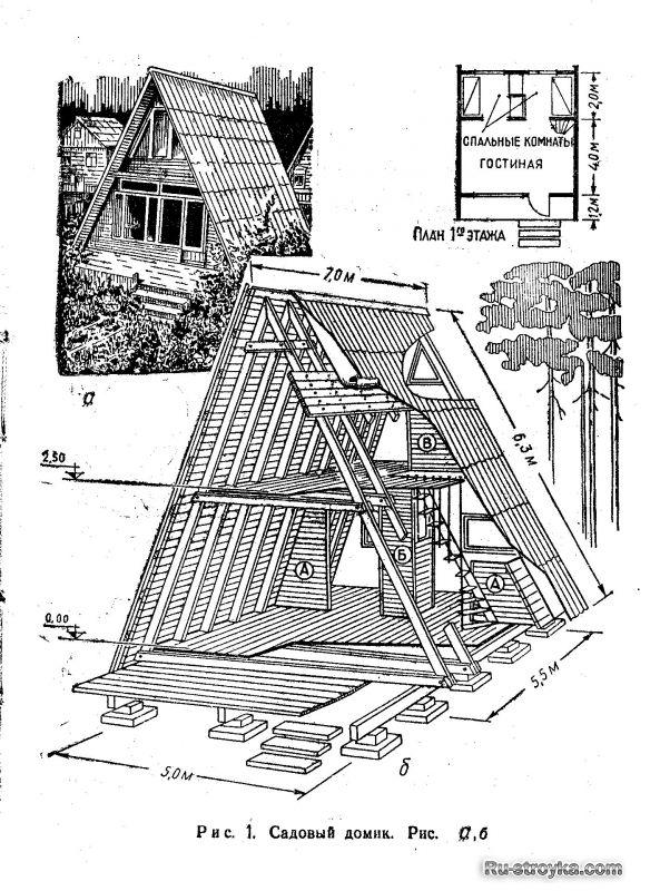 Resultado de imagem para треугольный дом проект