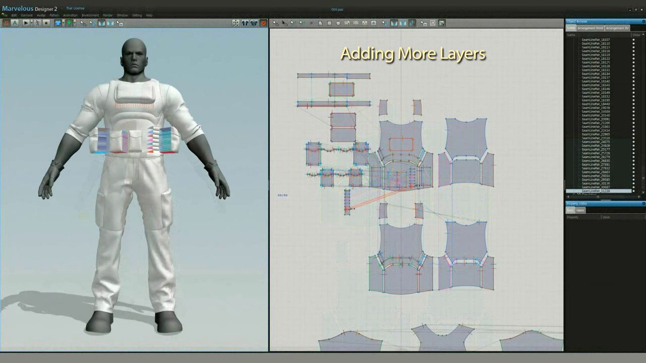 Airforce Clothes Making with Marvelous Designer 2 | Designers and ZBrush