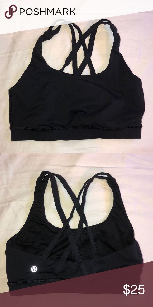 906fd67a67 Lulu Lemon Black Sports Bra Black Lulu Lemon Sports Bra S lululemon  athletica Other