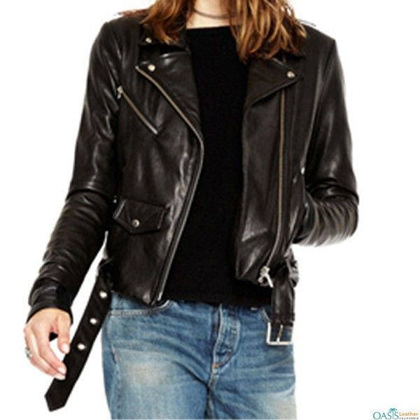 Are You Looking For Wholesale Womens Black Leather Motorcycle Jackets In Usa