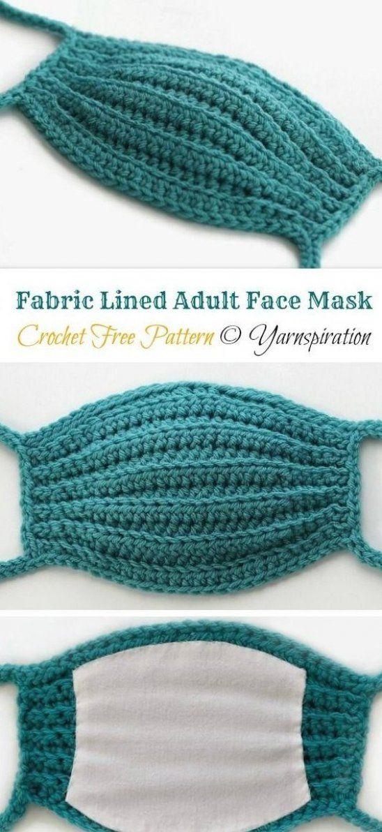 10 Face Mask Crochet Free Patterns     Page 2 of 2     DIY How To #crochet #amigurumi #project #craft #diy #knitting #knittingpatterns #patterns