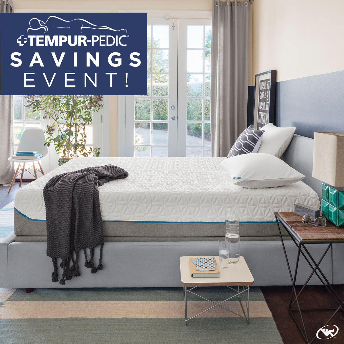 Our TempurPedic Savings event is going on now! Save up to