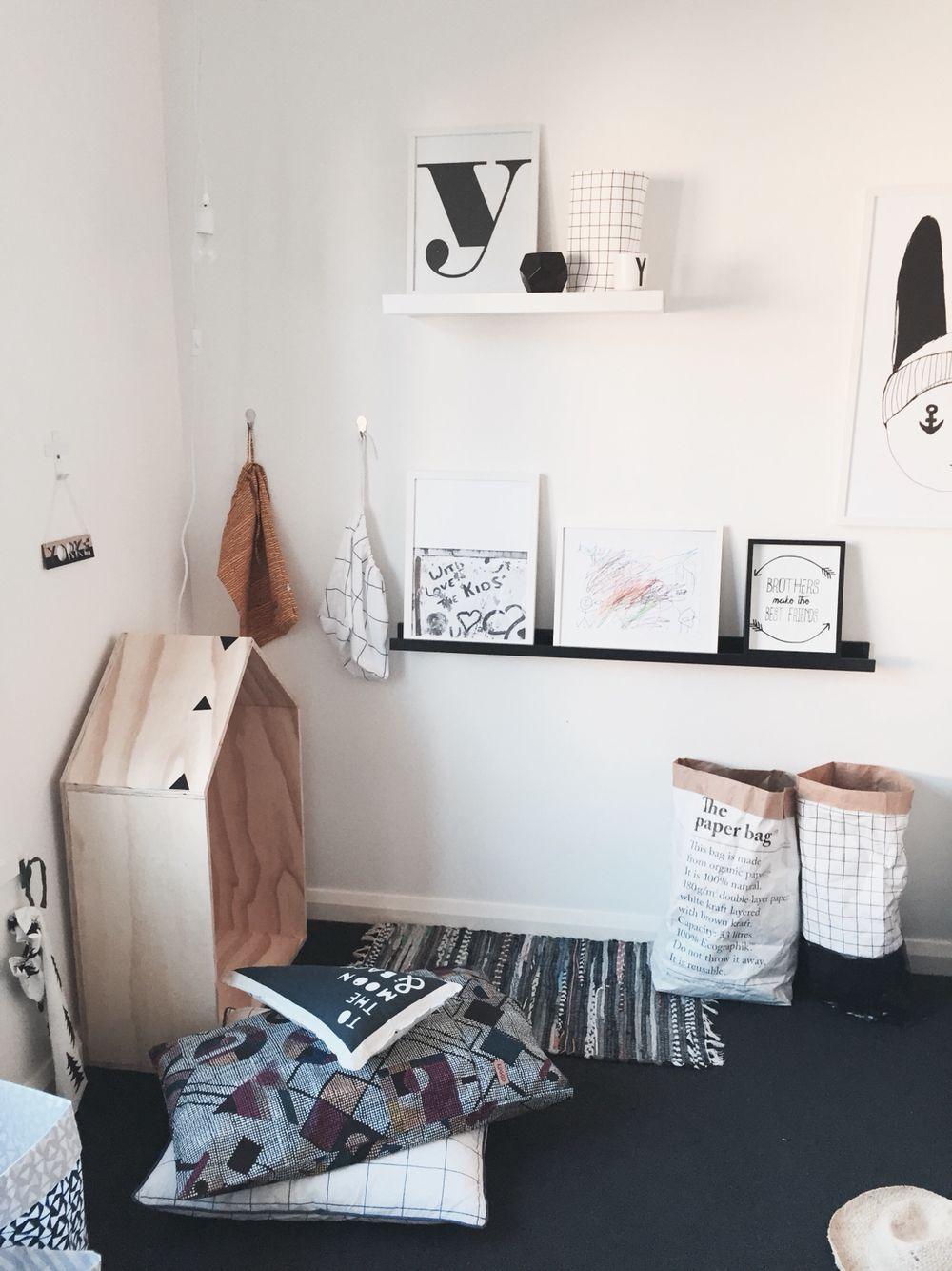 Minimalist boys interior style, using Yorkelee kids wall art prints, shop online, prints starting at $7. Yorkelee.com.au