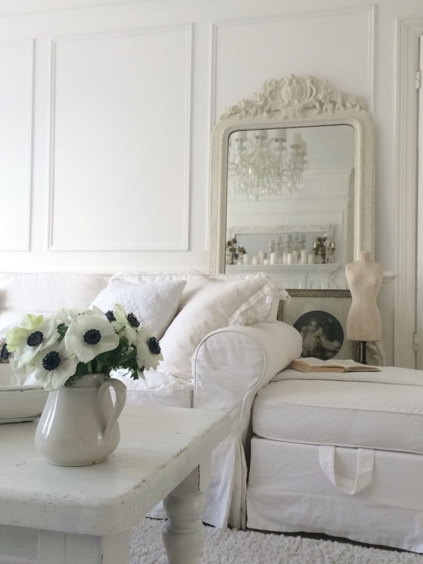 White French living | French country | Pinterest | Shabby, Living ...