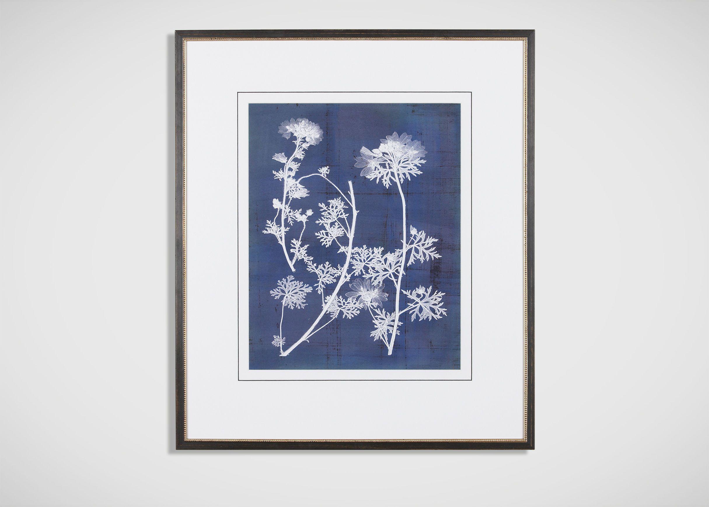 Ethan Allen Wall Art nature's imprint d - ethan allen   wall art blues   pinterest