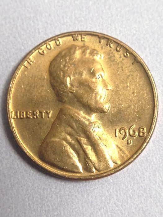 Details about 1968 D Lincoln Memorial Penny | Collectible
