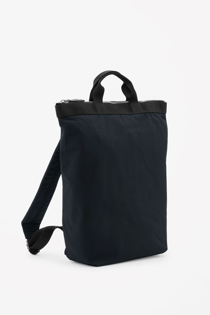 55cddb5b2f COS image 4 of Tote backpack in Black