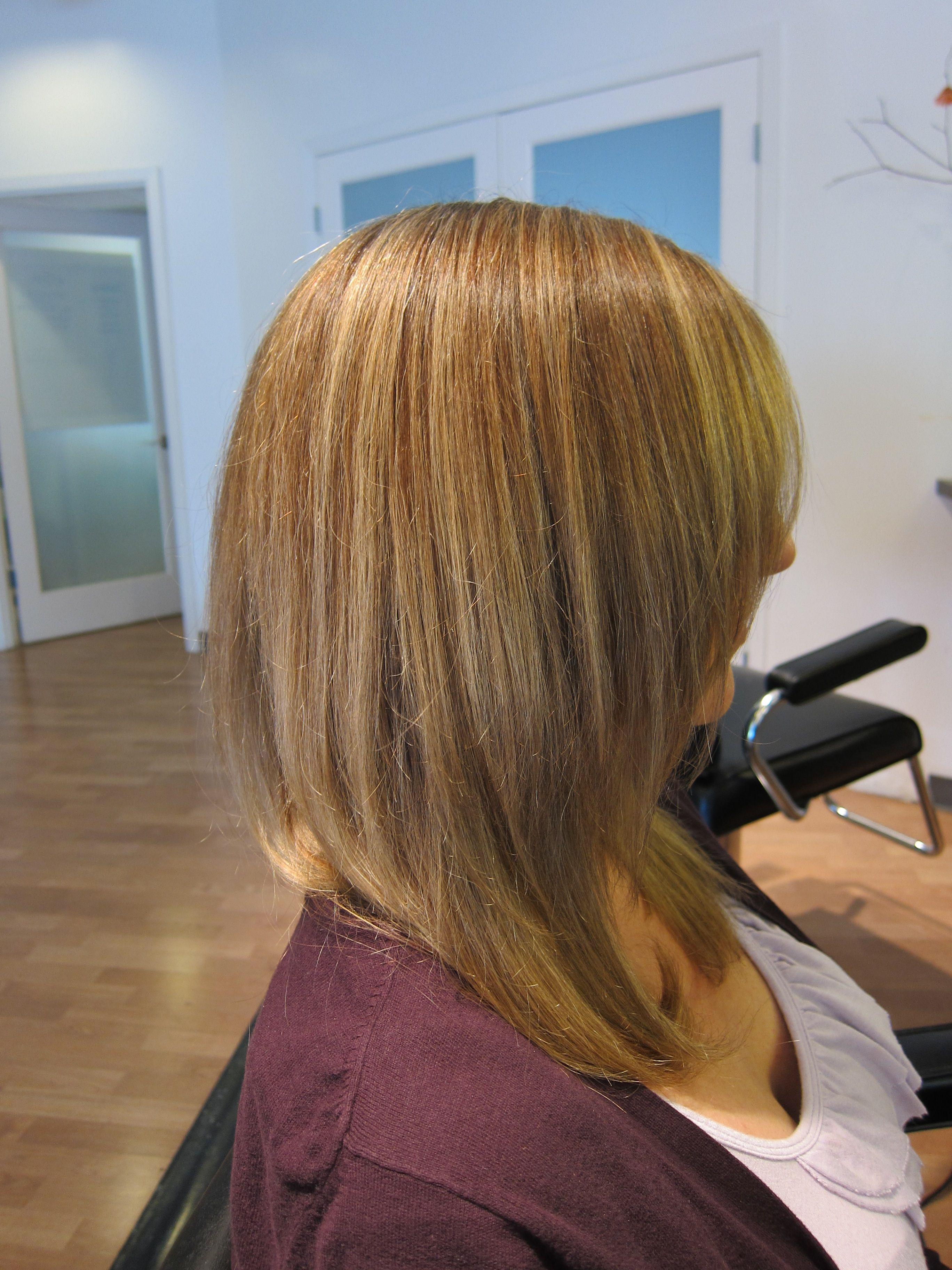 Two Toned Foil Weaves Long Hair Styles Hair Styles Hair