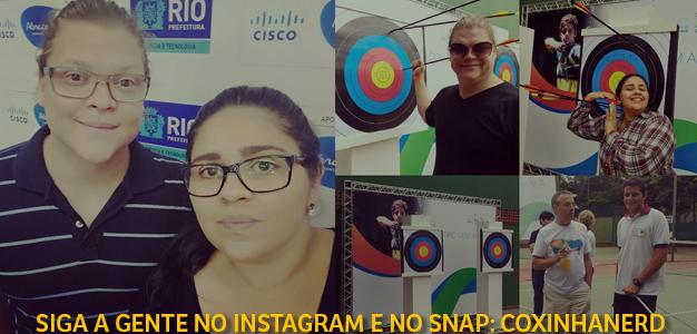 CoxinhaOlimpica Programa de Inovação Social e Tecnológica Cisco Rio2016