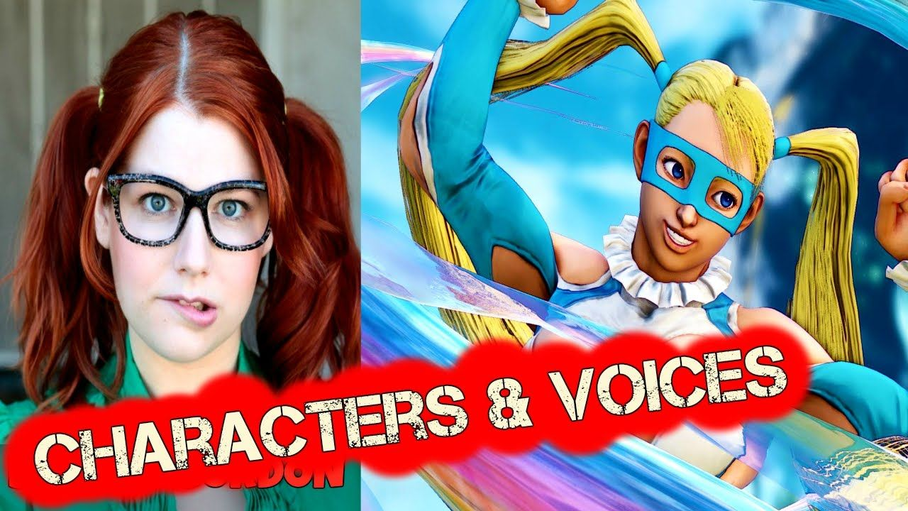 Street Fighter 5 Characters Voices English [Video] #Playstation4
