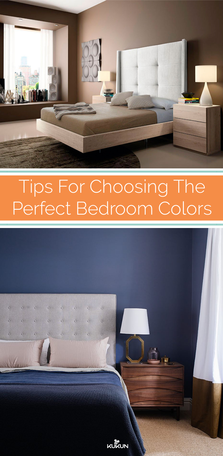 Tips For Choosing Bedroom Colors That Fit Your Style Color Ideas Bedrooms Paint Colours