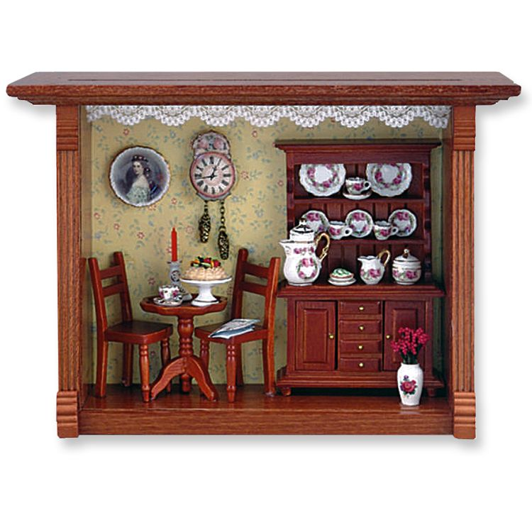 Coffee Shop Shadow Box | Room box miniatures, Doll house crafts, Diy barbie  furniture