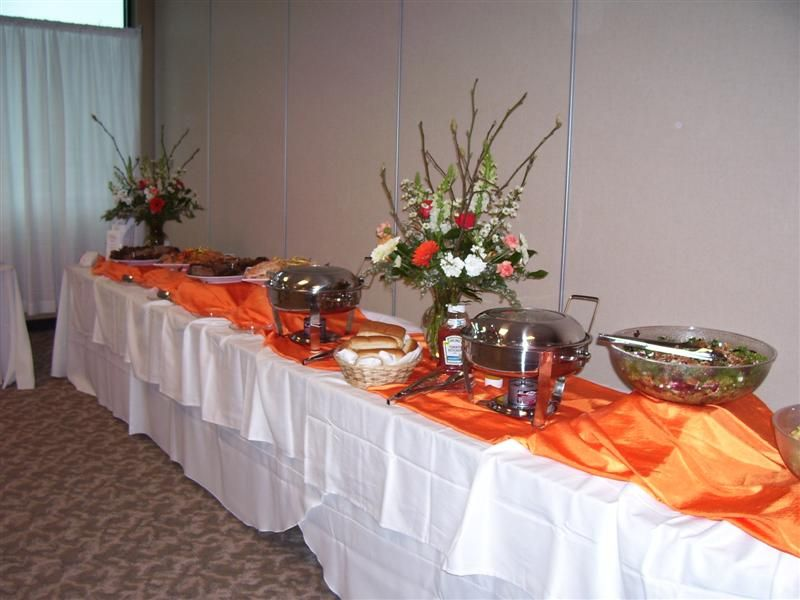 Buffet Table Decorating Ideas Pictures wedding buffet table flower decorations big centerpiece Buffet Tables For Wedding Receptions Buffet Table For Wedding