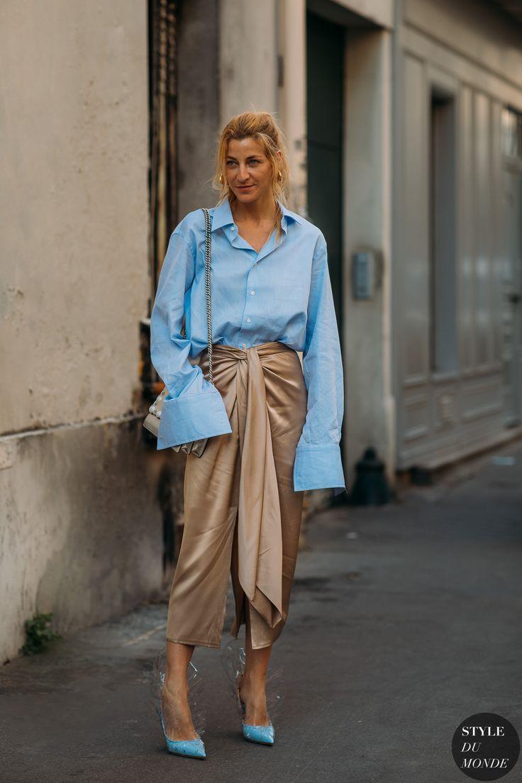 Haute Couture Fall / Winter 2018/19 Street Style: Ada Kokosar