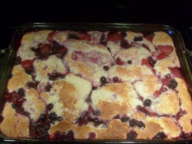 Old Fashion Raspberries Desseer
