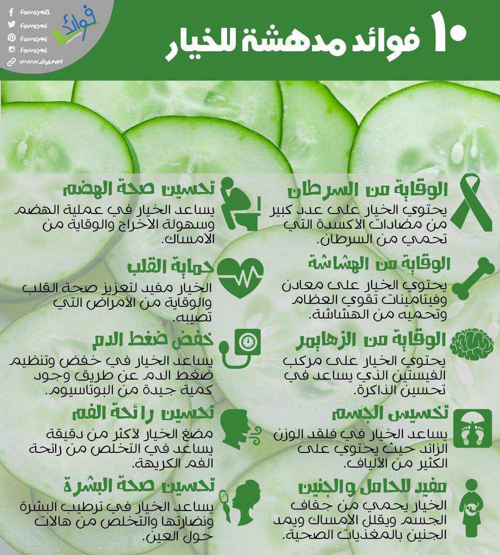10 فوائد مدهشة للخيار Vegetable Benefits Health Healthy Recipes