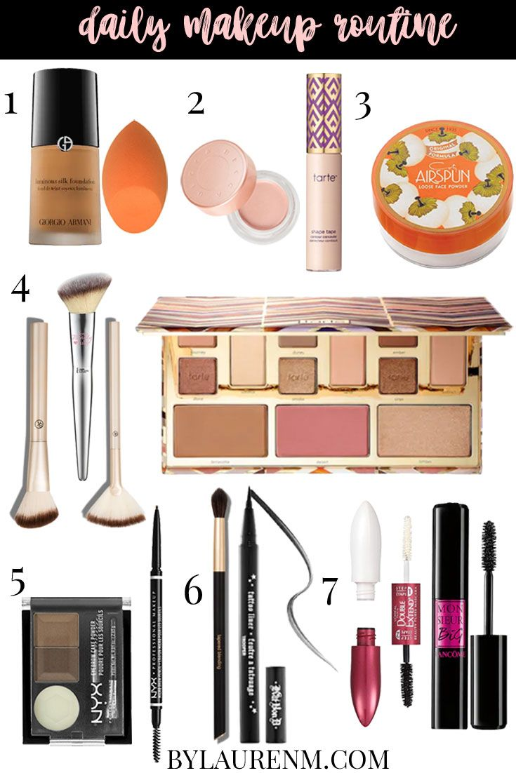 My Daily Makeup Routine  By Lauren M  Daily makeup routine