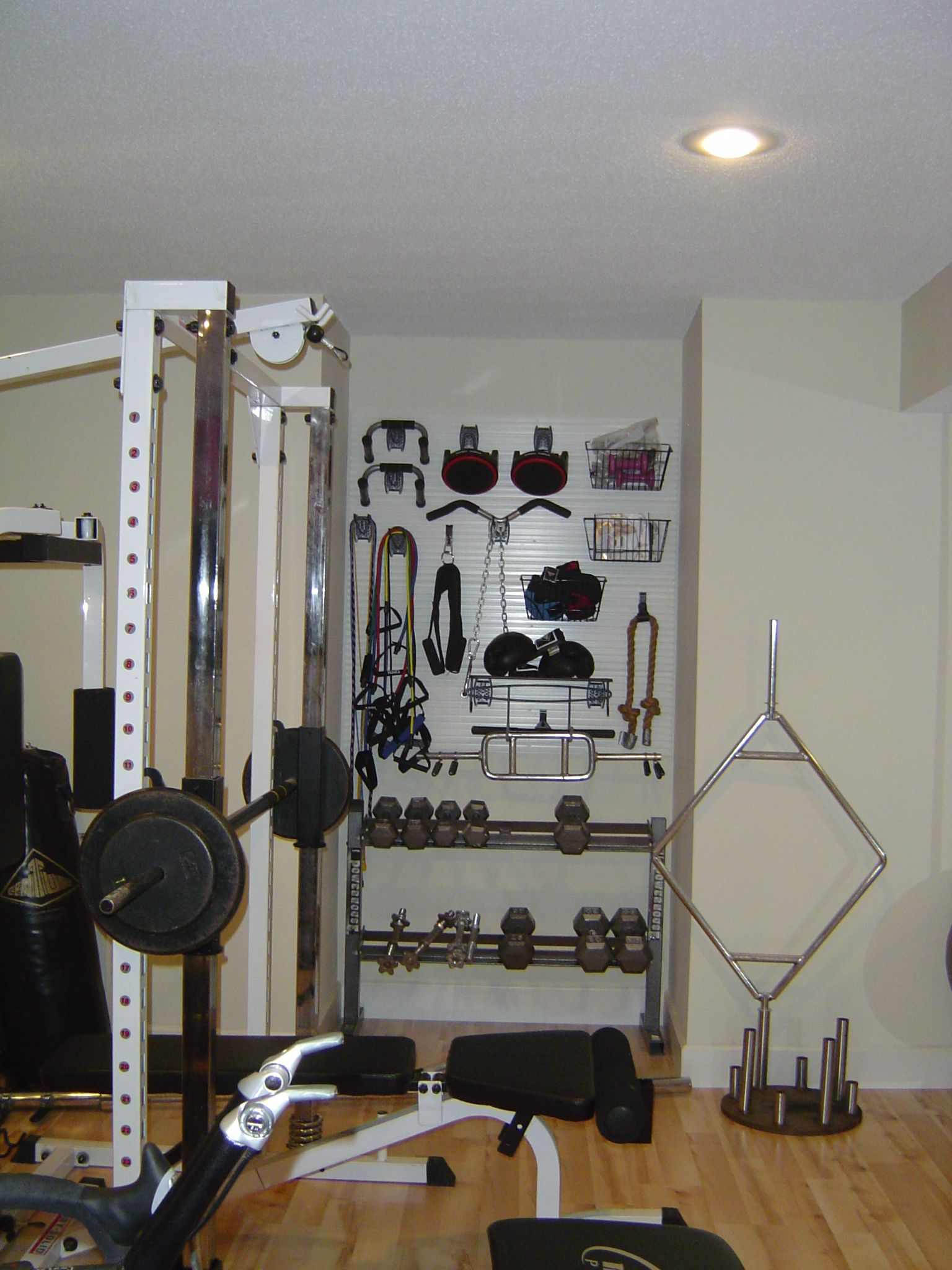 Slatwall system organize your home home gym at home gym slat