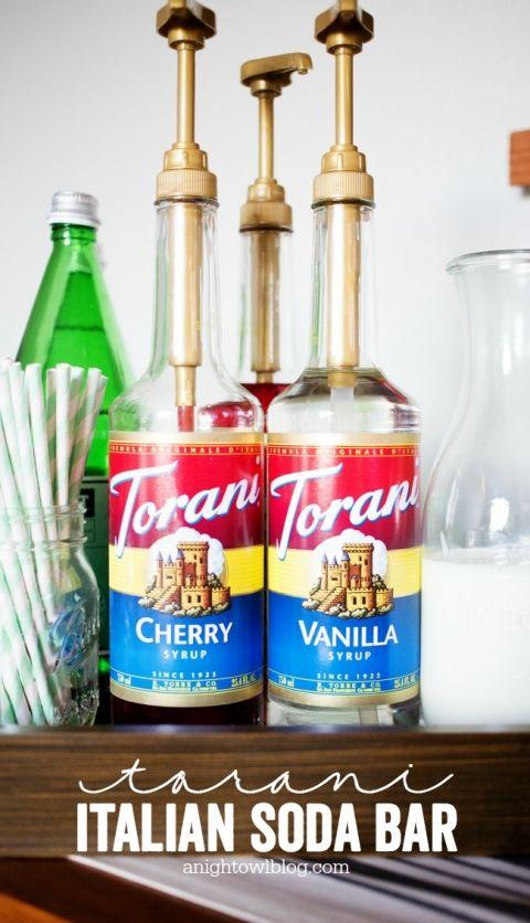 Torani Italian Soda Bar Italian Soda Bar Soda Non Alcoholic Drinks