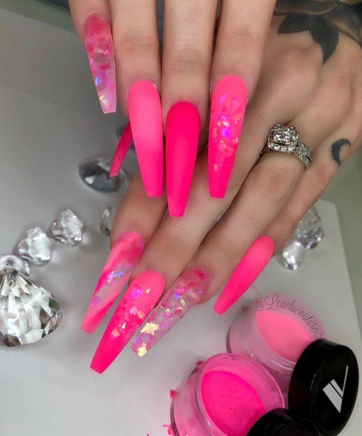 Pinky Nails Manicura De Unas Unas De Gel Unas De Gel Elegantes