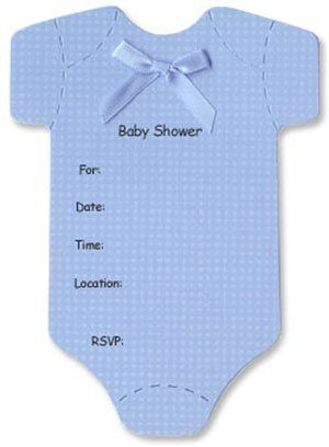 It is a photo of Printable Onesie Baby Shower Invitations within stencil
