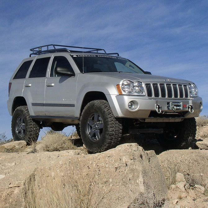 4 Jeep Grand Cherokee And Commander 2005 2007 Suspension Lift Kit