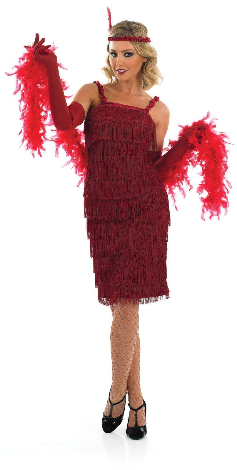 Charleston kleid braun