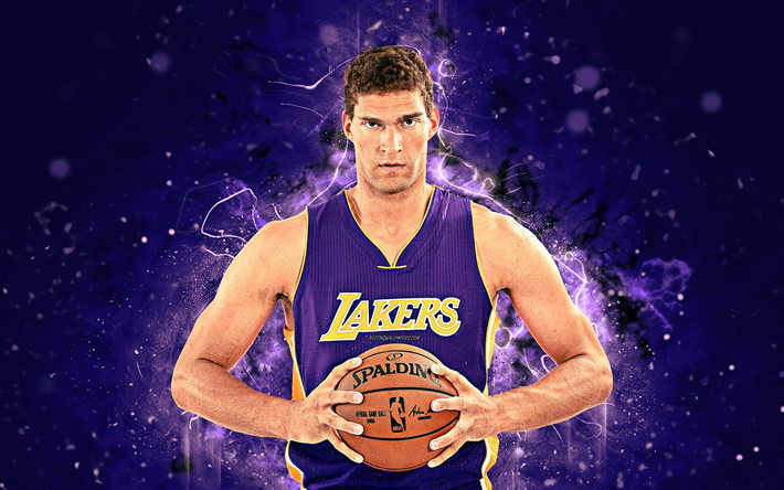 e05a32512 Download wallpapers Brook Lopez