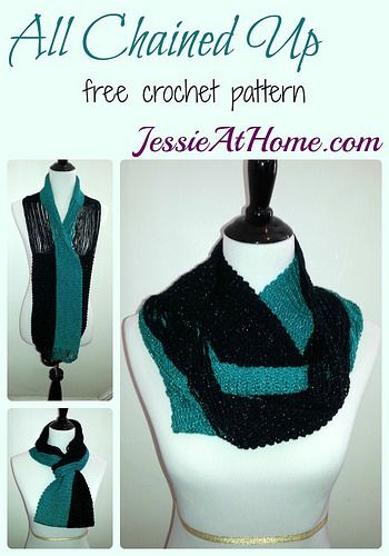 50 Crochet Patterns For Scarves And Cowls Pinterest Free