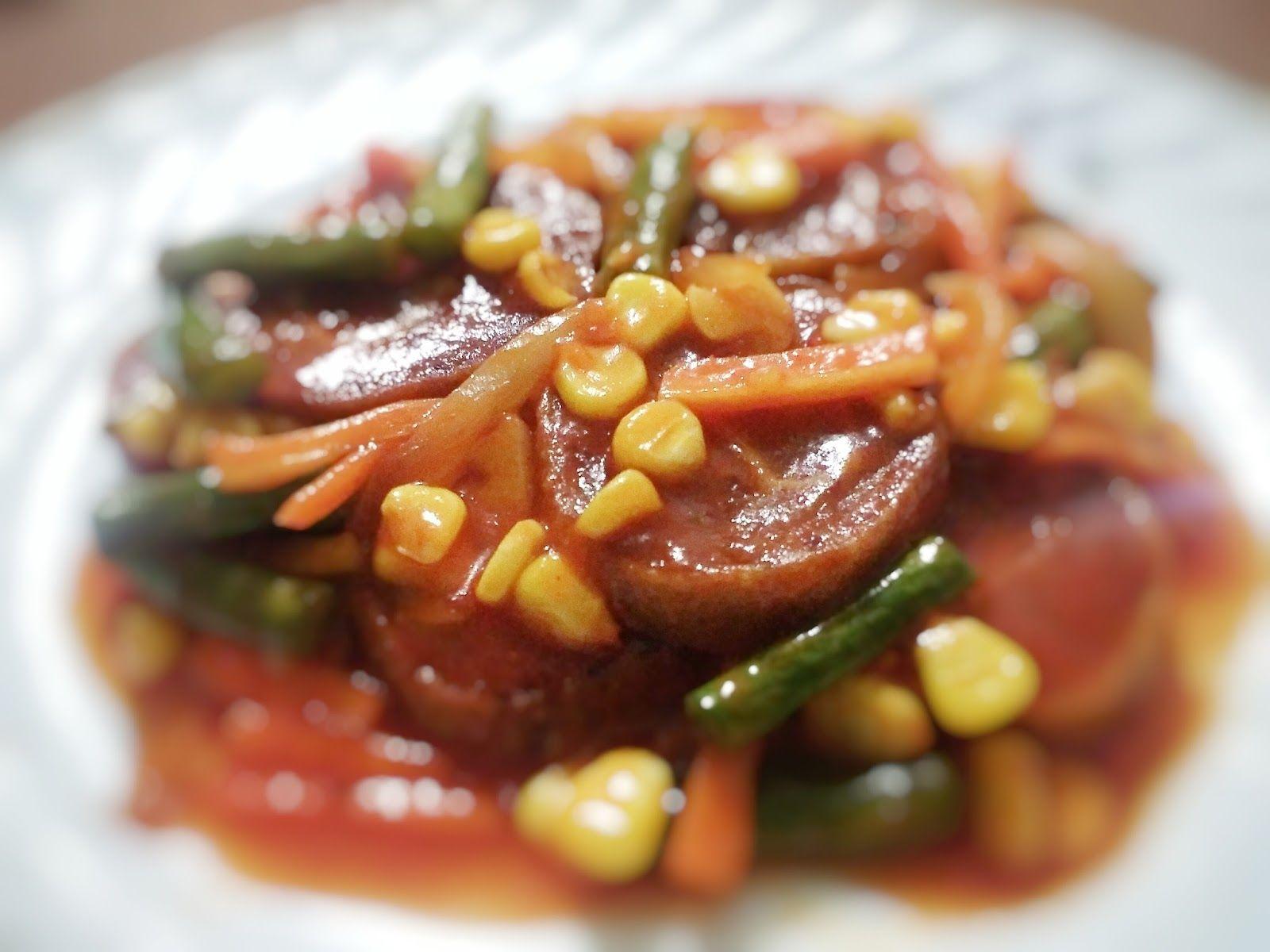 Resep Rolade Daging Sapi Saus Asam Manis Makan Malam Masakan Resep Makanan