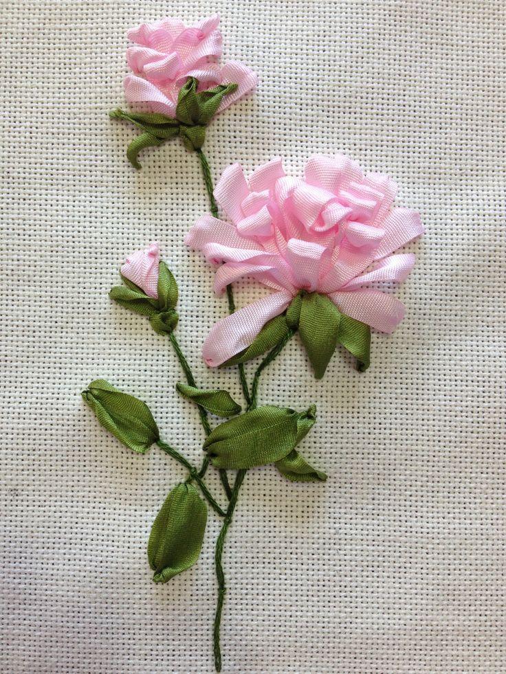 Resultado De Imagen Para Imagenes De Bordados En Liston Flores De