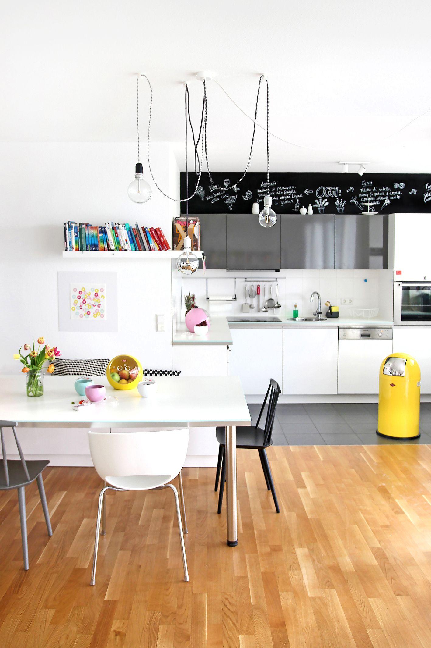 Gemütlich Wohnküche Layoutbilder Zeitgenössisch - Ideen Für Die ...