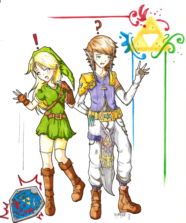 Kokiri Zelda, Prince Link | For My Inevitable Future as a Cosplayer