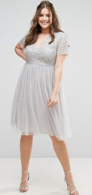 55 Plus Size Wedding Guest Dresses {with Sleeves | Pinterest ...