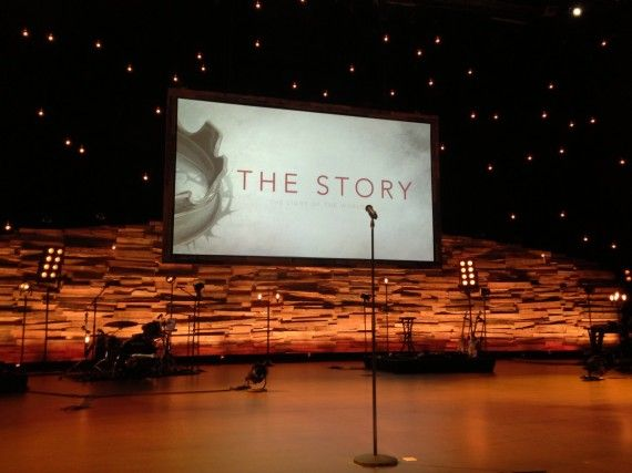 Mountains and Stars | Church Stage Design Ideas | Church ...