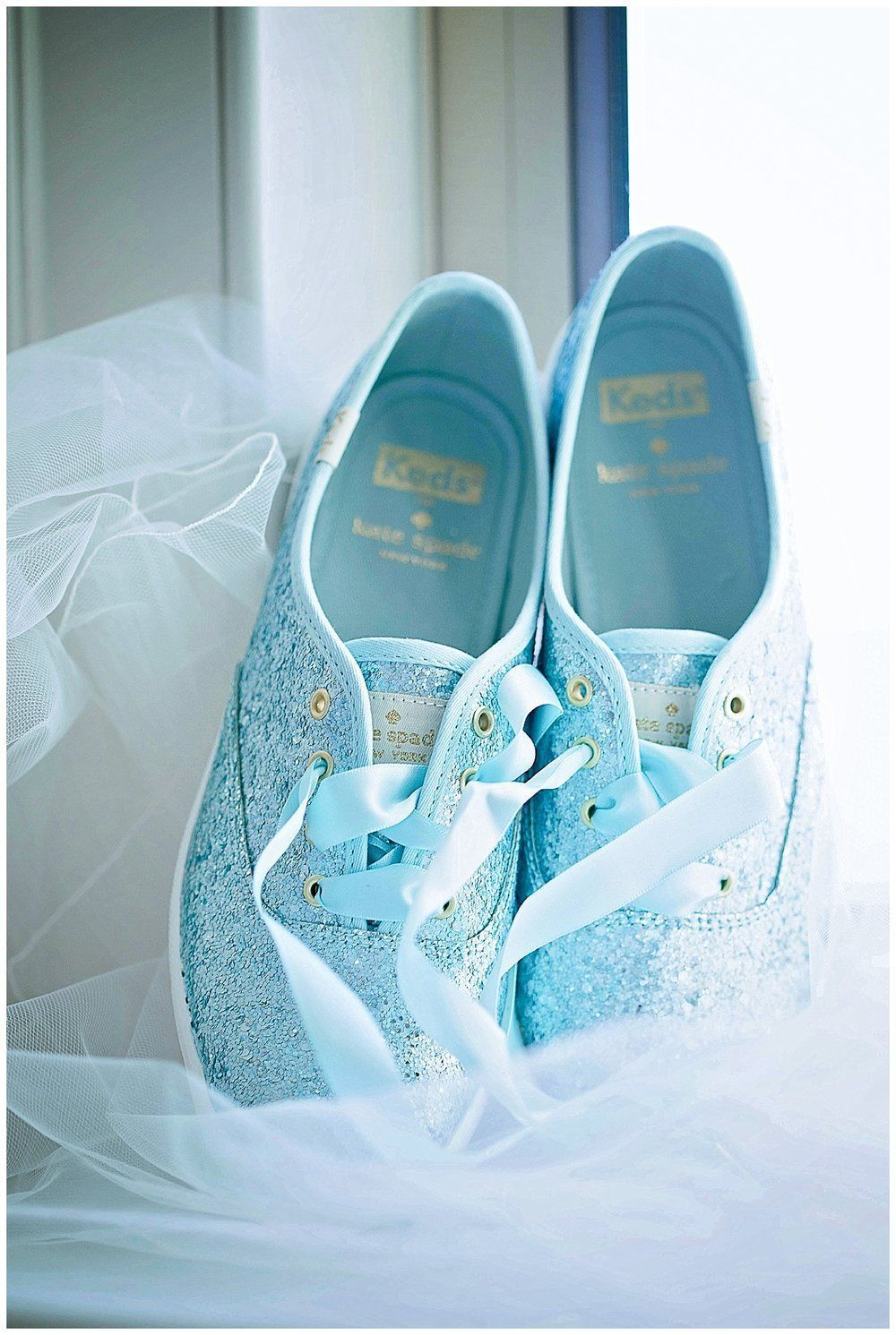 Diy Glitter Shoes Recipe Wedding Sneakers Kate Spade Bridal