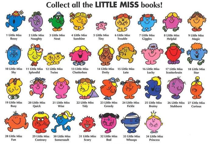 Image result for little miss characters