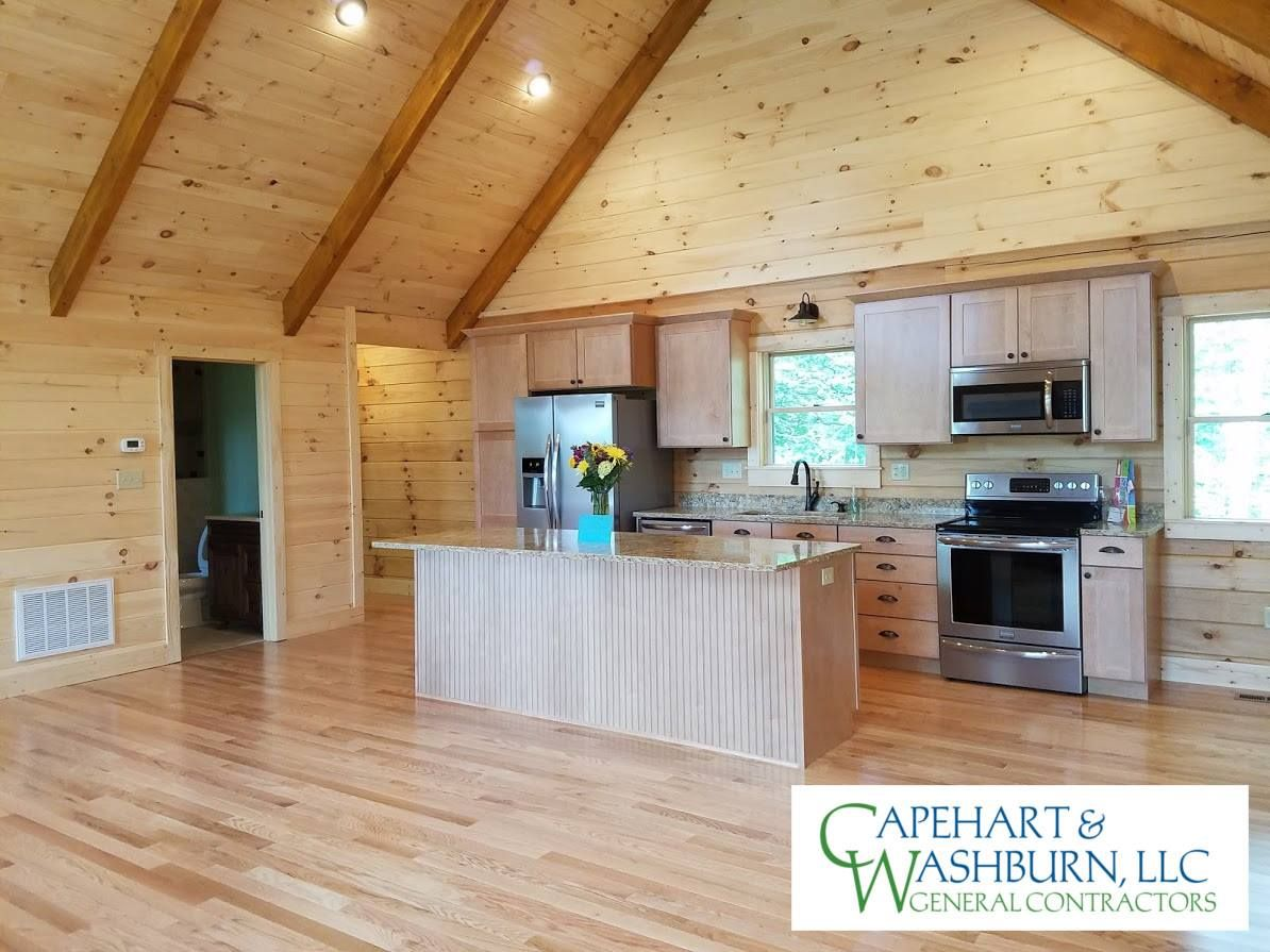 Wonderful Beautiful Cabin Recently Completed In Newland, NC By Log Homes Of America  Independent Representatives,