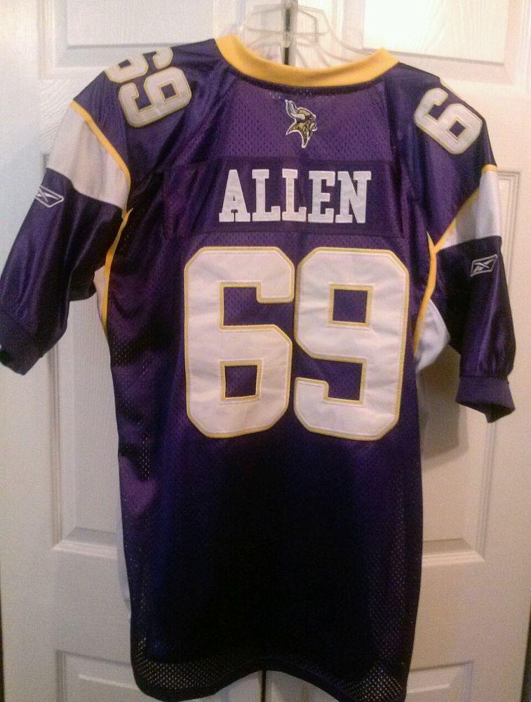 NFL,Authentic Minnesota Vikings, Jared Allen ,Sewn Jersey 2XL (54) Reebok #Reebok #MinnesotaVikings