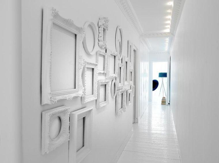 Déco murale originale avec cadres vides | Pinterest | Décoration de ...
