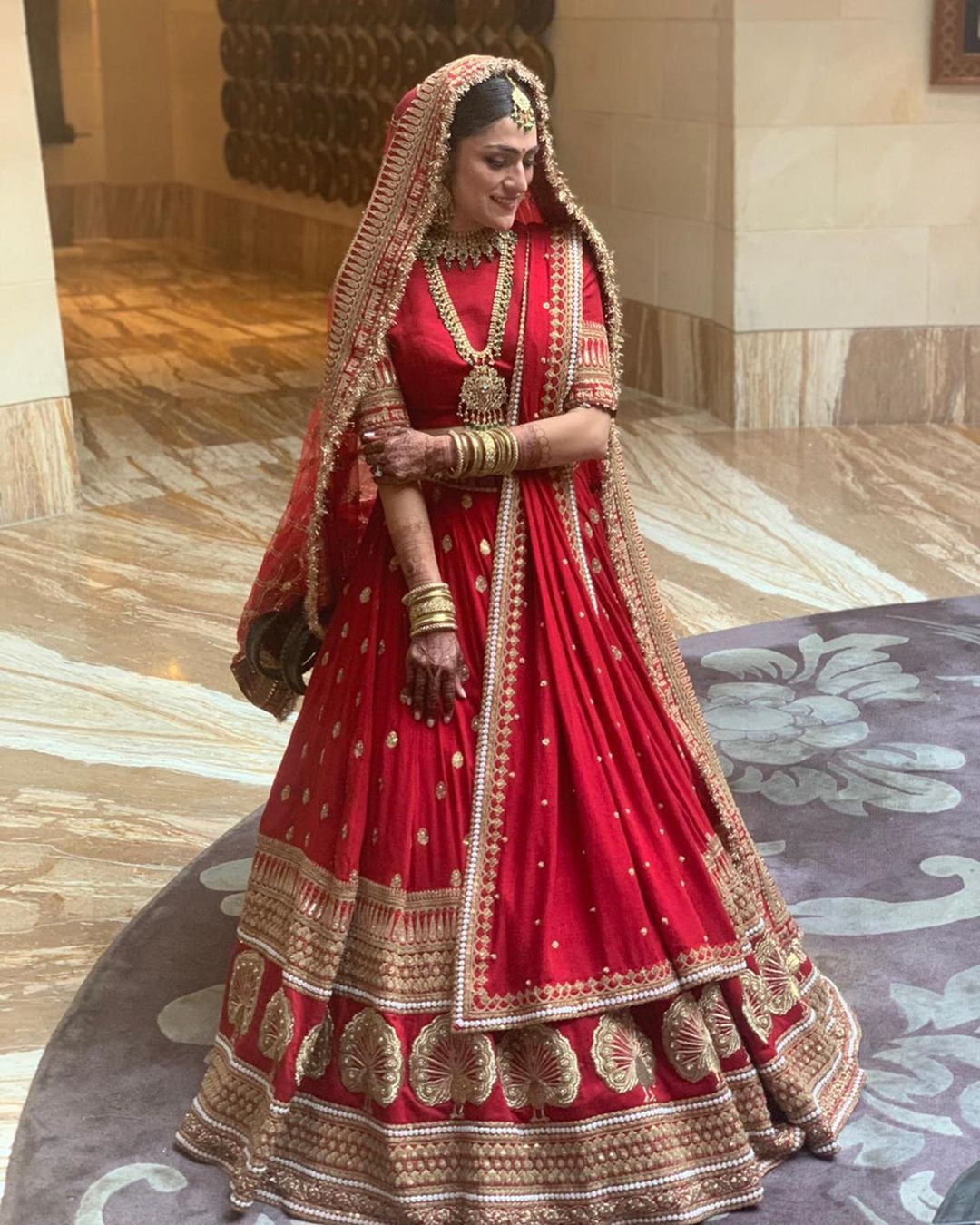 Red Gold Sabyasachi Wedding Lehenga Bridal Lehenga Red Indian Bridal Outfits Indian Bridal Dress
