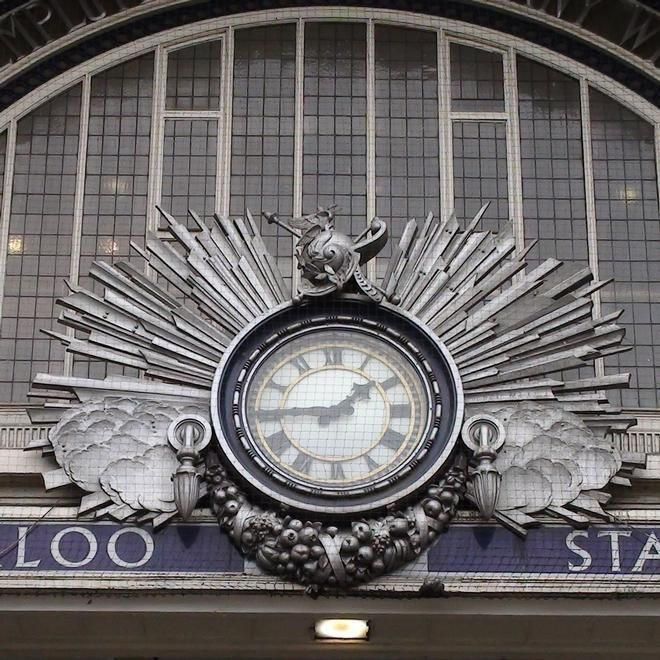 Waterloo Station Victory Arch, London