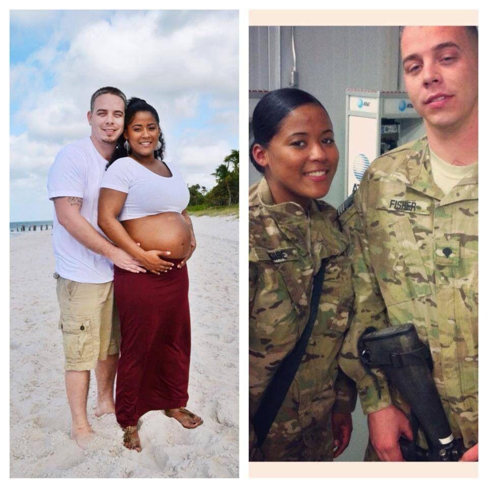 Interracial dejting i militären